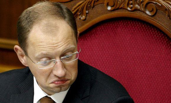 Премьер-министр Украины Яценюк объявил о своей отставке