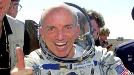 Первый космический турист Дэннис Тито