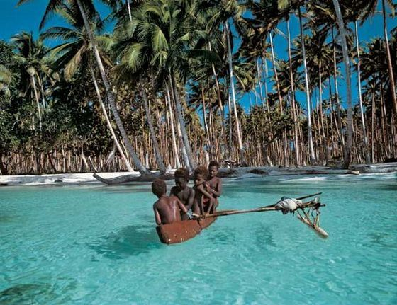 Papua New Guinea is a great place to travel.