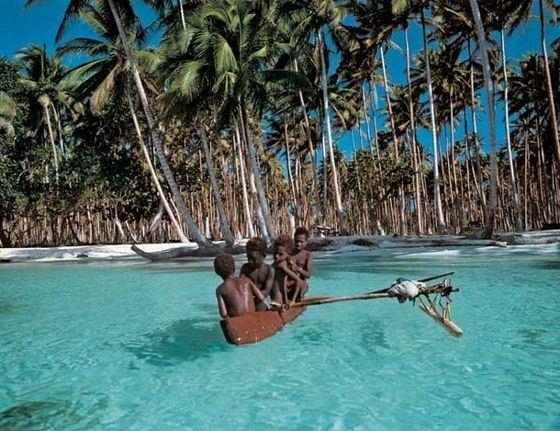 Папуа-Новая Гвинея - отличное место для путешествий