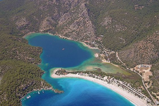Oludeniz Beach is among the top most beautiful beaches in the world.