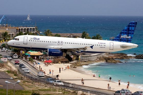 Maho Beach is the noisiest in the world