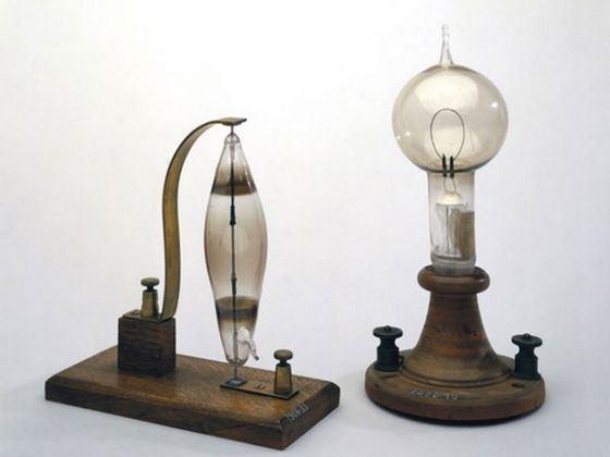Лампы накаливания изобрел русский ученый