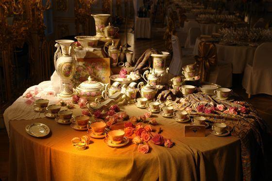 Фарфоровая посуда традиционно считается самой дорогой