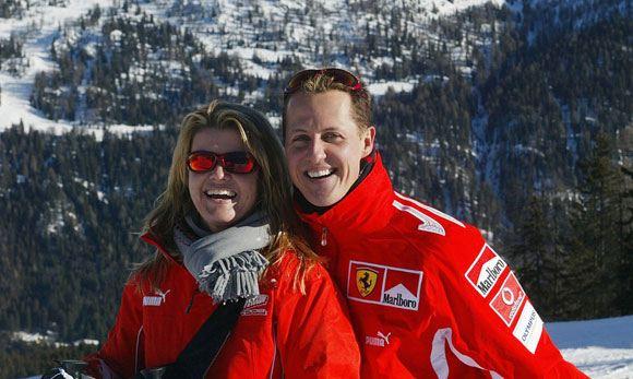 Коринна Шумахер решила продать самолет мужа