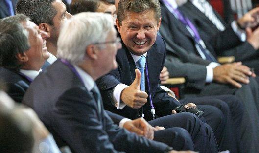 Глава «Газпрома» получит планшетный компьютер за 114 миллионов рублей