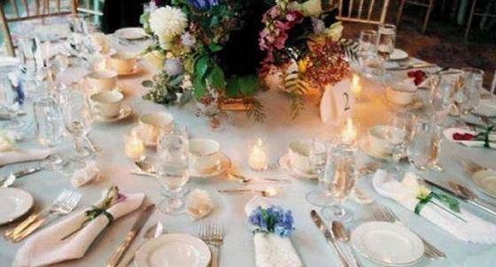 Сервированный стол - часть одного из самых необычных завещаний