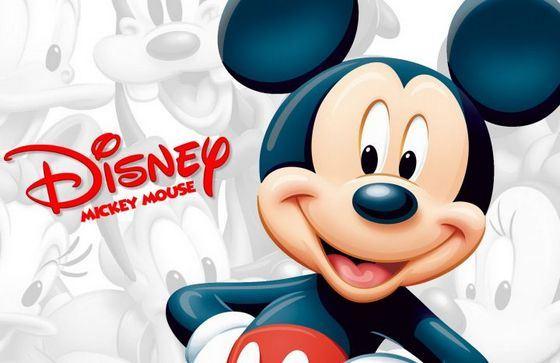 Микки-Маус - один из самых популярных мультяшных героев