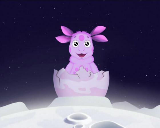 Лунтик популярный современный мультипликационный герой