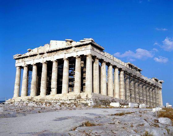 От храма Артемиды в Эфесе остались только руины