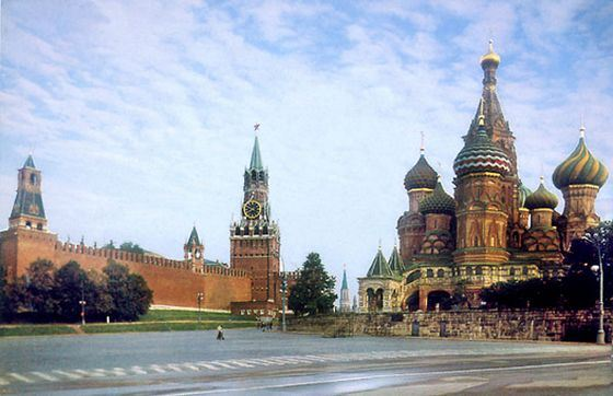 Red Square is the most popular place among tourists in Russia