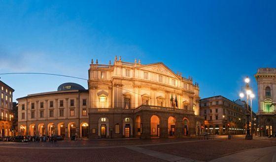 Teatro La Scala, perhaps, the main attraction of Milan