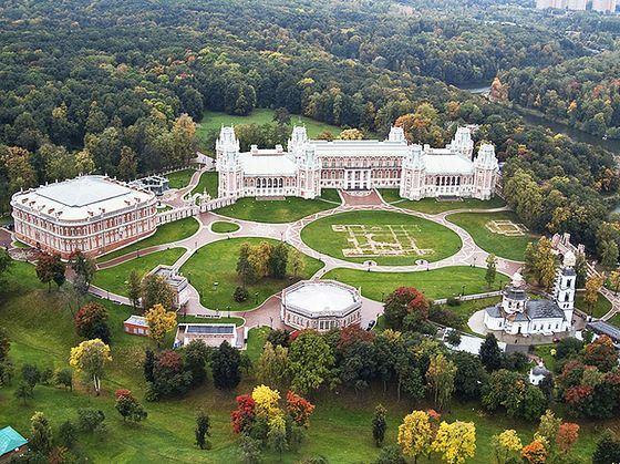 Музей-заповедник Царицыно - важное место в Москве