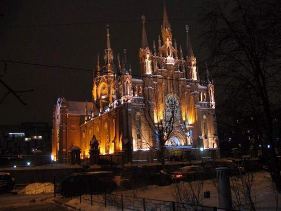 The Cathedral of the Immaculate Conception of the Blessed Virgin Mary - a cult place that has become a landmark