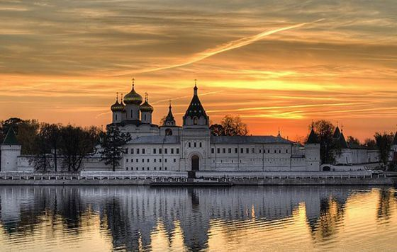 Ipatiev Monastery - an important place in the Golden Ring route