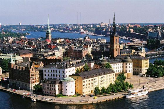 Стокгольм - северный город необычайной красоты