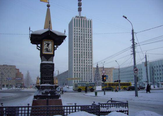 Архангельск холодный город на Белом море