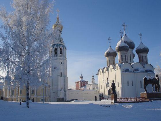 Вологда - небольшой красивый город на севере России