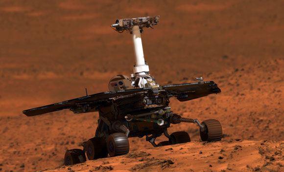 Марсоход Opportunity побил рекорд по внеземному передвижению