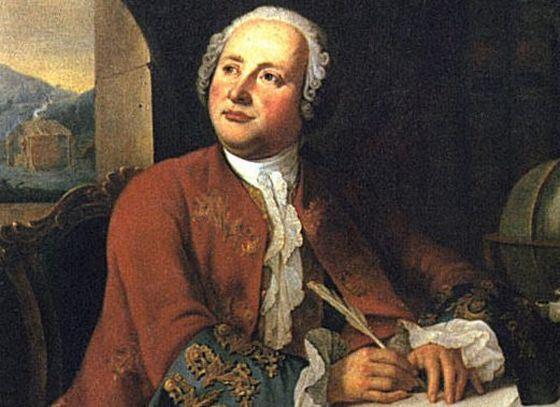 Mikhail Lomonosov is perhaps the most famous historian in Russian history.