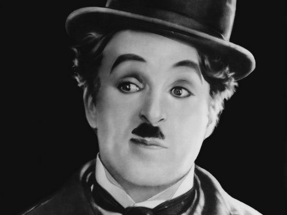 Charlie Chaplin is the most famous actor for a silent movie.