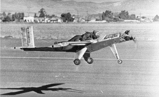 Wee Bee самолет, попавший в книгу рекордов Гиннесса из-за своих размеров