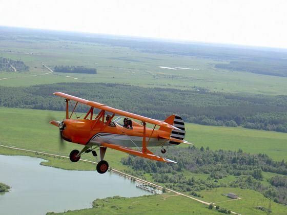 Этот маленький самолет создатель назвал Шершнем