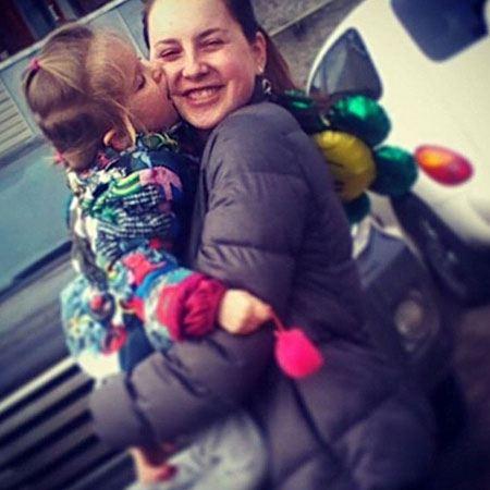 Ирина Слуцкая хочет, чтобы дочь пошла по ее стопам