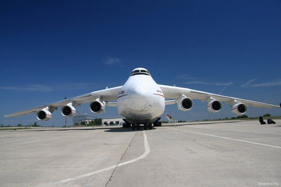Mriya's super-plane exists in a single copy.