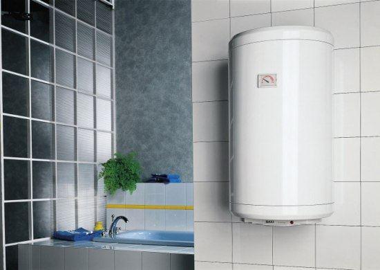 Накопительный ЭВН позволит получить большой объем горячей воды