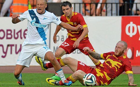 «Зенит» обыграл в Туле «Арсенал»