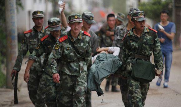 Количество погибших во время землетрясения в Китае выросло до 367 человек