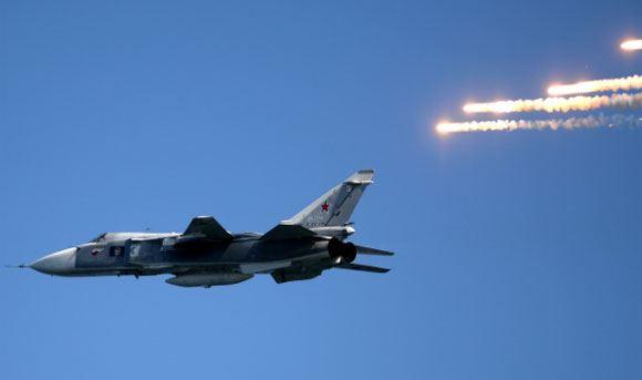 Россия проведет беспрецедентные маневры с участием 100 боевых самолетов