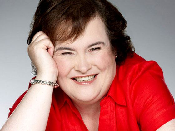 Pictured: Susan Boyle