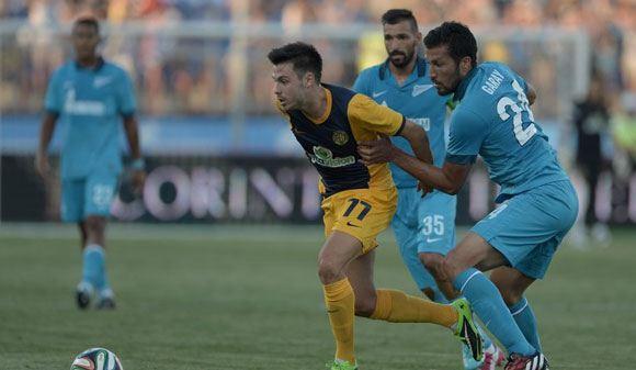 «Зенит» вышел в раунд плей-офф Лиги Чемпионов