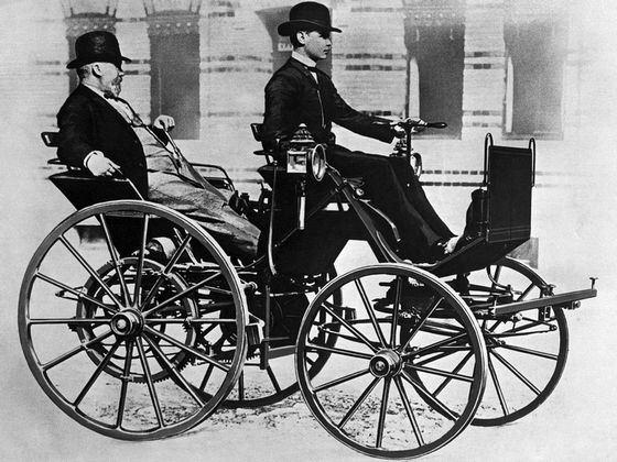 Первые серийные автомобили «Даймлер»