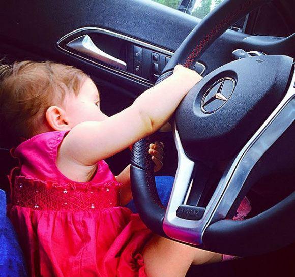 Дочка Тани Терешиной Арис начала интересоваться взрослыми игрушками