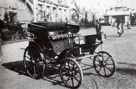 Первый русский автомобиль фирмы «Фрезе и К°»