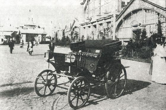 Презентация первого отечественного автомобиля «Фрезе и К°» в Нижнем Новгороде