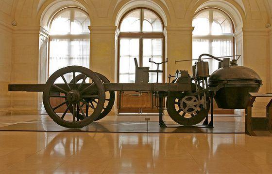 У самого первого автомобиля были серьезные проблемы с тормозами