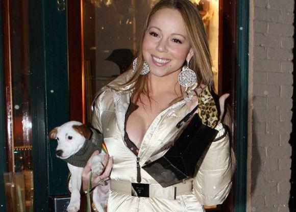 Мэрайи Кэри потратила на отдых для своих собак 200 тысяч долларов