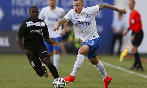 «Динамо» одержал верх над израильским клубом в рамках Лиги Европы