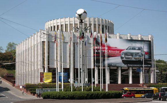 У «Украинского дома» в Киеве произошел взрыв