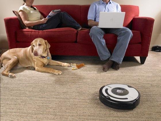 Робот-пылесос настоящая находка для дома