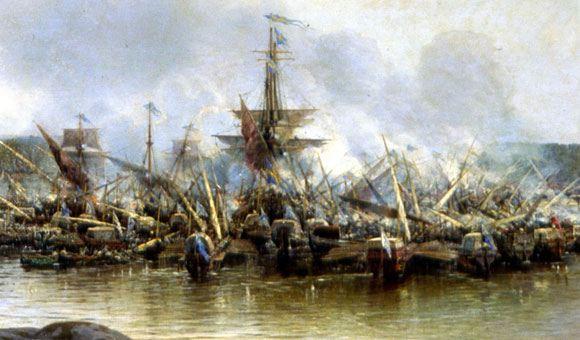 Трехсотлетний юбилей первой победы русского флота отметят в Москве
