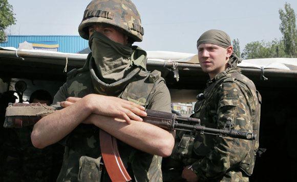 Россия освободила пятерых украинских военных