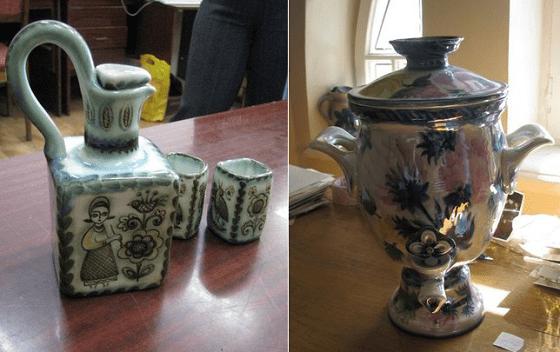 Изделия Будянского фаянсового завода