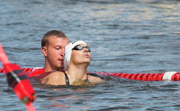 Зрители спасли жизнь польской пловчихе на чемпионате Европы