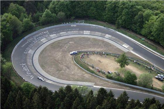 Нюрбургринга – Северная Петля - самая сложная гоночная трасса в мире для суперкаров