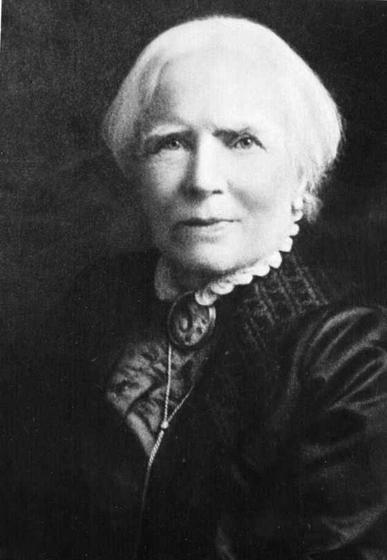 Элизабет Блэквелл одна из самых известных женщин-врачей